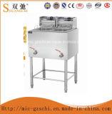 Электрическая сковорода с свободно стоящей машиной для жарить еду