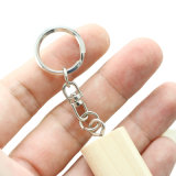 Jacarandá Natural Pen Drive USB de 4 GB DOM Key Ring