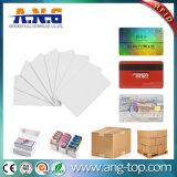 Limpar os cartões impressos personalizados transparente de PVC Cartões de visita