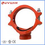 T meccanico del ferro duttile con presa filettata con FM/UL
