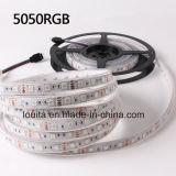 5050 60LEDs SMD/m faixa de LED com marcação RoHS