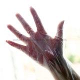 Guanti medici a gettare di colore dei guanti della mano stirata trasparente/blu di cura