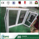 昆虫スクリーンとのプラスチック耐衝撃性の傾きおよび回転Windows