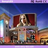 P6 LED al aire libre que hace publicidad de la tarjeta