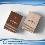 음식 초코렛 케이크 (xc-fbk-005)를 위한 접히는 종이 포장 상자