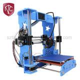 Imprimante directe de l'approvisionnement DIY 3D d'usine d'A8 Chine avec la fonction de niveau automatique