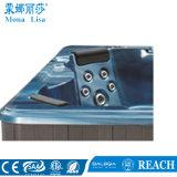 3 tester di rettangolo degli europei di vasca da bagno blu della Jacuzzi