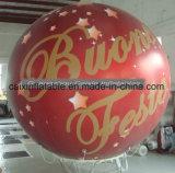 De adverterende Ballon van het Gebied van het Helium Opblaasbare Ronde