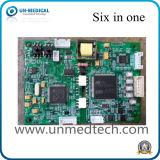 Placa de seis parâmetros para o monitor paciente