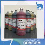 Tinta de impressão fluorescente de Kiian Dublimation Digital da taxa colorida elevada para a venda