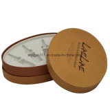 Rectángulo de regalo de la tapa oval y del rectángulo bajo para el empaquetado cosmético