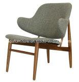 Cadeira de sala de estar de madeira moderna de design clássico moderno