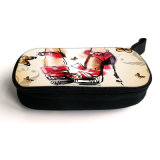 Kundenspezifisches Fashion Printing Zipper Laptop Battery Charger Bag für Charger USB Mouse