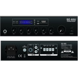 Pa To mix To amplify (-60u) with UNIVERSAL SYSTEM BUS, SD, FM, Bluetooth, Echo