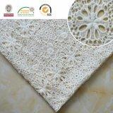 Wedding&Homeの織物E20028のためのさまざまな花のレースのファブリック、白および空想