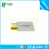 201030 3.7V 43mAhによって曲げられる電池またはリチウムポリマーによって曲げられる電池