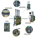 Jammer Backpack каналов 90W GPS 5.8g WiFi Jammer 6 трутня до 200m