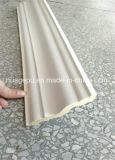 Corniche décorative de tête de type de plafond simple de polyuréthane moulant le moulage d'unité centrale