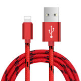 3FT/6FT/9FT 8 Pin-Tiger-Flechte Nylon-USB-Daten-Kabel
