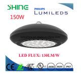 IP67 Ik09 Lm80 10 años de la garantía bahía del UFO LED de alta