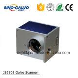 Precio de fábrica portátil láser Marcador láser Js2808 de aluminio Marcado