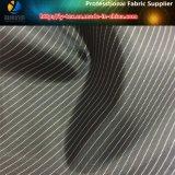 敏速なヤーンによって染められる縞ファブリック、ポリエステルファブリック、黒い縞(S28.31)
