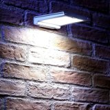 46 Verlichting van de Veiligheid van de LEIDENE de Openlucht ZonneSensor van de Muur Lichte Motie Geactiveerde voor Terras, Werf, Dek, Portiek