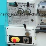 Mini máquina Bl250c del torno del banco del metal de la venta del uso caliente del garage
