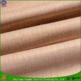 Tissu tissé par tissu imperméable à l'eau de rideau en guichet d'arrêt total de franc de polyester de rideau en arrêt total de bande