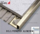 Aluminiumzutaten-Winkel-selbstklebende Bodenbelag-Zubehör-lamellenförmig angeordneter Bodenbelag-Rand