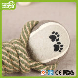 Doppeltes Tennis-Seil-Hundekauen spielt Haustier-Produkt