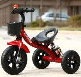 مزح [شلد تريسكل] جديدة [تريك] طفلة درّاجة ثلاثية مع زجاجة