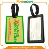Бирка багажа PVC печатание нестандартной конструкции мягкая