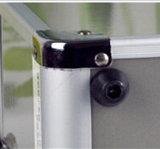 يبقى ألومنيوم رماديّة قابل للإقفال [مديكل مرجنسي] عدة مع شاشة طبعة