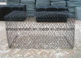 PVC低炭素鋼鉄が付いている上塗を施してある金網の網の/Hexagonalワイヤー網