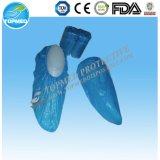 con banda elástica nuevo tipo cpe / pe zapatos de plástico cubierta / chanclos