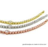 Commercio all'ingrosso cubico del braccialetto di Zirconia del AAA del braccialetto di Bling (Bt6538)