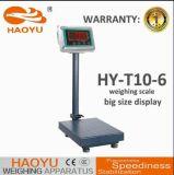 LED de plataforma de pesaje de escala con 100kg.