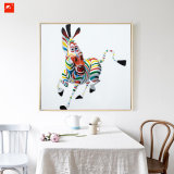 Het kleurrijke Abstracte Schilderen van het Kunstwerk