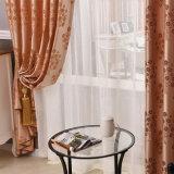 Estilo europeu clássico Poliéster Cortina da janela de blecaute Jacquard (33W0052)