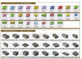 Блок машины делать кирпича Qtj4-40/Concrete делая машину/вымощая блок делая машину