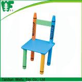 De houten Lijst en Stoel F0147+F0146 van de Studie van de Kinderen van de Lijst en van de Stoel