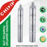 3 Zoll 4 Zoll-Schrauben-Edelstahl-tiefe Vertiefung Sumbersible Pumpe