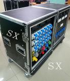 24 Kanäle 16A imprägniern Energie Distro mit in Phasen einteilen 3