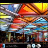 Стекло искусствоа прокатанное (EHLM003)/стекло картины прокатанное