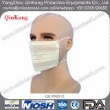 Masque protecteur chirurgical non tissé de 3 plis pour l'usage d'hôpital