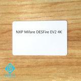 Jet d'encre imprimable NXP MIFARE DESFire EV2 4k Cartes d'identité PVC