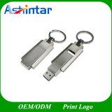 Брелок USB-накопитель USB Stick поворота металлический флэш-накопитель USB из нержавеющей стали