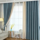 Design personalizado a cortina da janela de blecaute sólido de froco (23F0080)