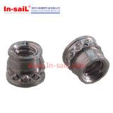 Écrou d'insertion de tête à bride ronde en acier au carbone